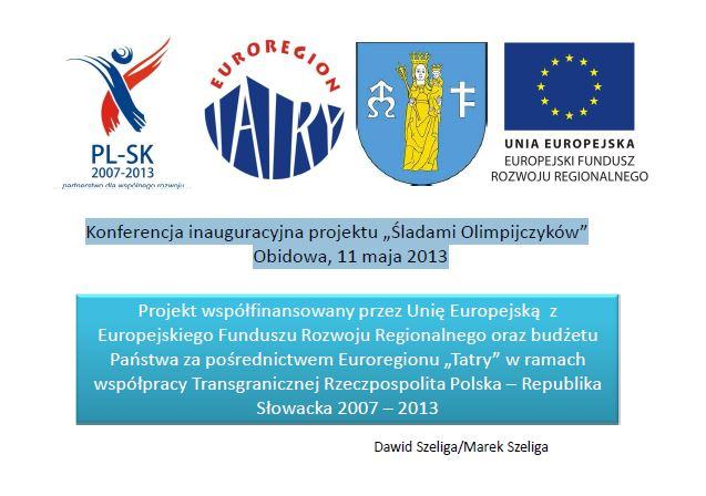 Prezentacja z Konferencji projektu Śladami Olimpijczyków